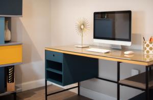 Desk and mac
